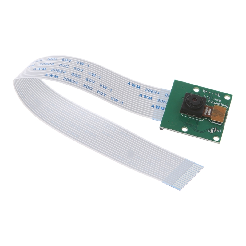 New 5MP Camera Module Flex Cable Webcam Video 1080/720p For Raspberry Pi 2/3/Model B Hot(China)