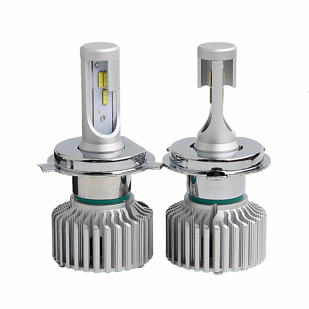 2PCS H7 LED 50W 12000LM 3Colors Strobe Flash 3000K/4300K/6000K 12V Auto LED Fog Lamp H4 Car Headlight Bulb automobiles Light car h4 led headlights hi lo 50w 5600lm auto lamp led light bulb 12v light source flip chip 6000k white 3000k yellow