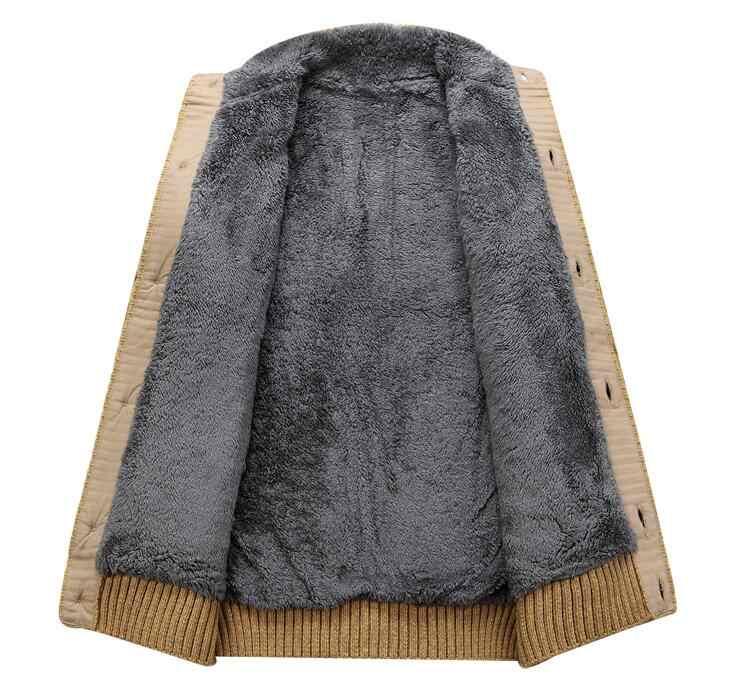 Черный свитер мужской зимний теплый толстый бархатный свитер однобортный повседневный мужской свитер с узором трикотажный кардиган мужской