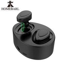 Homebarl СПЦ K2 2 шт. Bluetooth 4.1 True Беспроводной стерео Наушники гарнитуры громкой связи вкладыши с микрофоном зарядки окно смартфонов 145