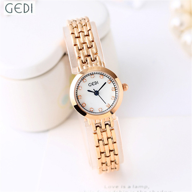 Watches Women Fashion Watch 2017 Luxury Diamond Waterproof Clock Rose Gold and Silver Japan Movt Fancy Dial Lady Bracelet Watch