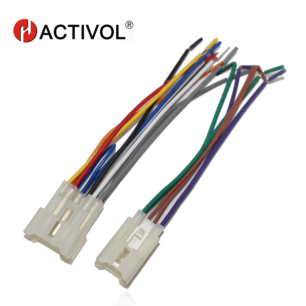 Car Stereo Female Iso Radio Plug Power Adapter Wiring Harness G9 Special For Toyota Universal