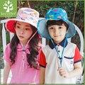 Árvore de 2016 chapéu do verão chapéus de sol das crianças das crianças e homens e também as mulheres chapéu criança do sexo masculino 2-4-8 anos de idade da criança cap bacia