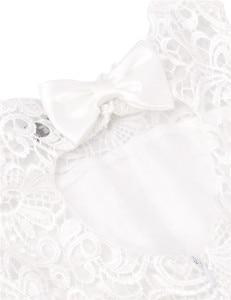 Image 4 - 2020 Brand New Flower Girl Dresses White/Ivory Real Party Pageant Communion Dress Little Girls Kids/Children Dress for Wedding