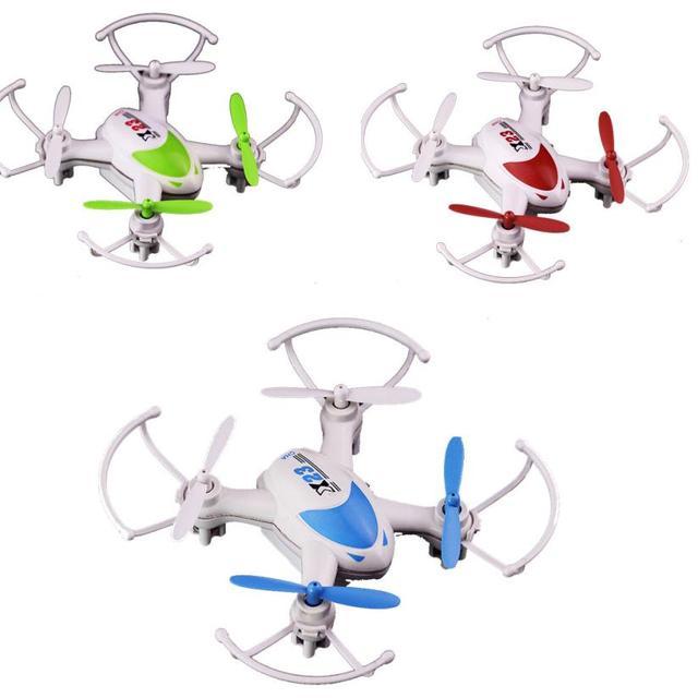 Горячие продажи SY X23 Мини Quadcopter, RC 6 Оси Гироскопа Свет 4ch Беспилотный Безголовый Nano Очень Здорово