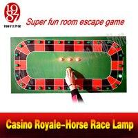 JXKJ1987 высокое качество номер побег Опора казино Royale Скачки лампа поймать правой лампы нажав кнопку игры