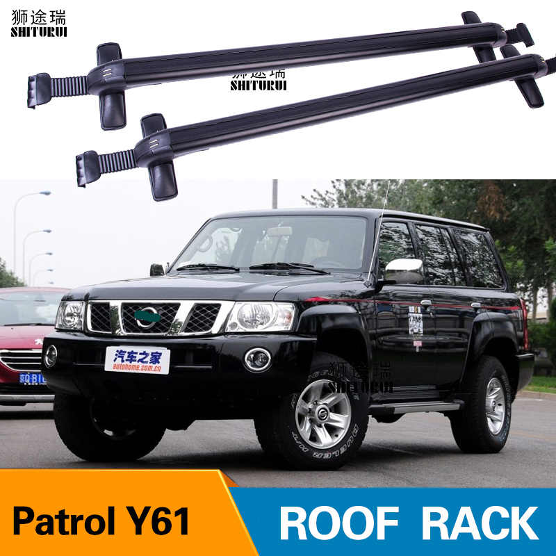 Detail Feedback Questions about 2Pcs Roof bars For NISSAN Patrol Y61