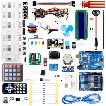 Super Arduino Starter Kit for Arduino UNO R3 With Resistance Identification Card