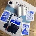 New Product MEMOBIRD PAPERANG Display Blue Sticker Thermal Paper Sticker 57*30 Stickers Label Paper 3 Volumes to Send