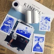 Новый продукт MEMOBIRD бумага ANG дисплей синий стикер наклейка из термобумаги 57*30 s Этикетка Бумага 3 тома, чтобы отправить