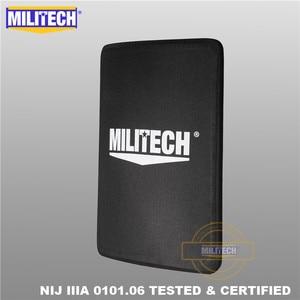 Image 1 - MILITECH 280mm * 350mm NIJ IIIA Ultra Light Weight UHMWPE Bulletproof Ballistic Backpack Panel 11 x 14 inches School Bag Insert