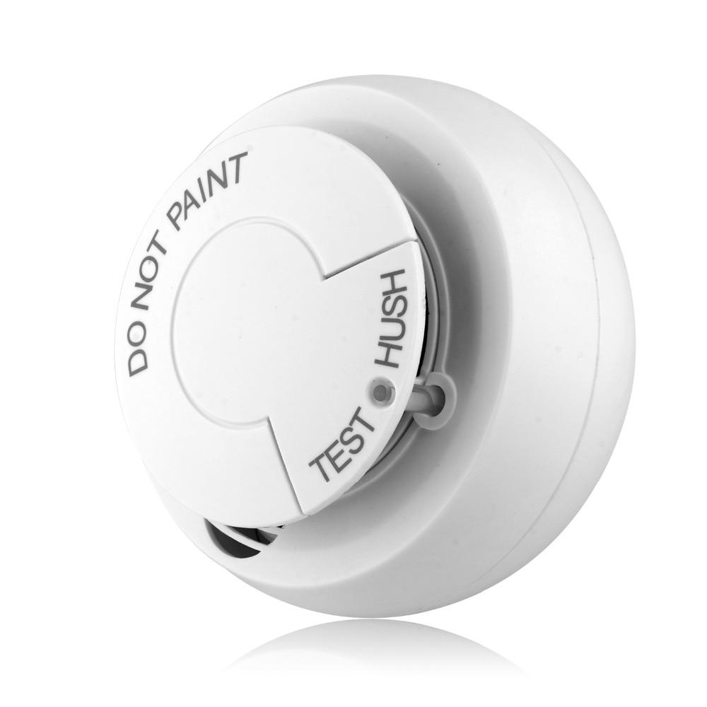 Lonsonho Wifi Smoke Detector Fire Alarm Security System Smart Smoke Sensor Smart Life Tuya App