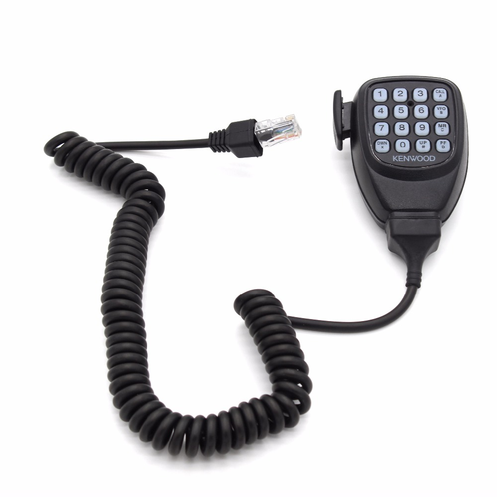 bilder für Dtmf lautsprecher mic mikrofon für kenwood mobilfunk tm-261a tm-271a tm-461a tm-471a tk-768 tk-868g tk-7100 tk-8100 tm-d710a