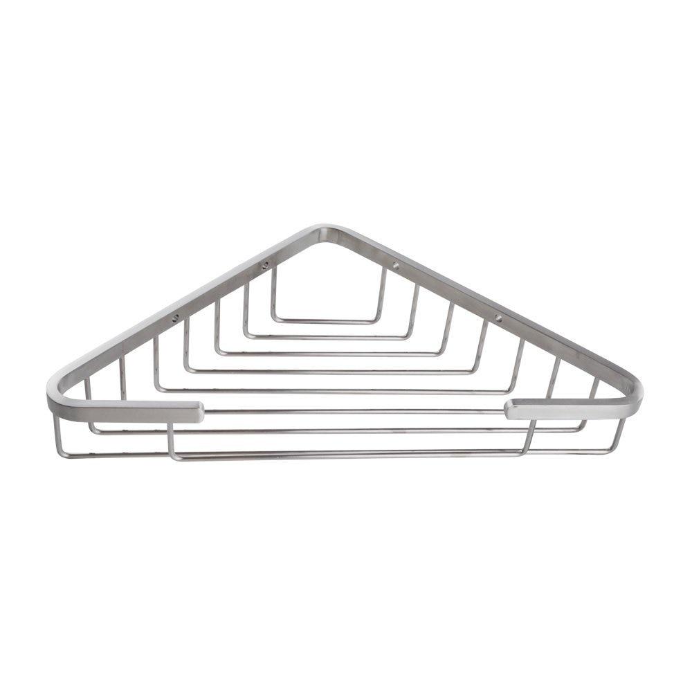 Unique Stainless Steel Corner Shower Caddy Bathroom Rustproof Basket Brushed Nickelchina Mainland I With Design Ideas