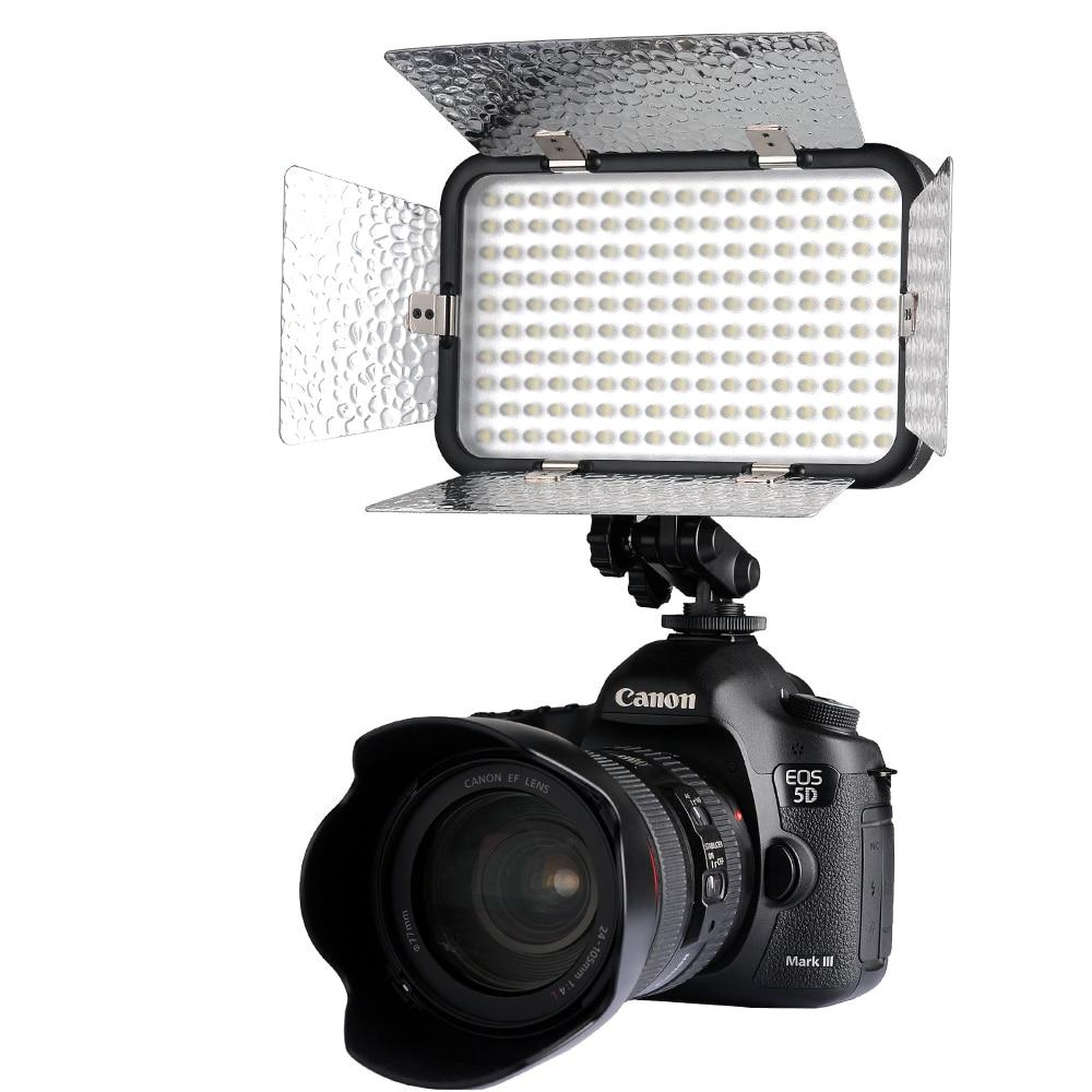 Godox LED 170 II LED lampe vidéo + filtre pour DSLR Canon Nikon appareil photo numérique caméscope DV