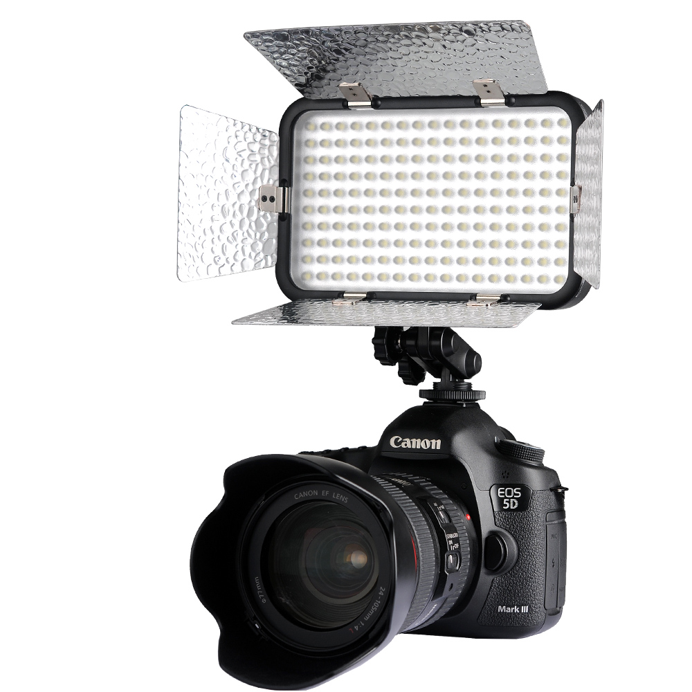 Godox LED170 II LED Video Lamp Light + Filter for DSLR Canon Nikon Digital Camera Camcorder DV godox professional led video light