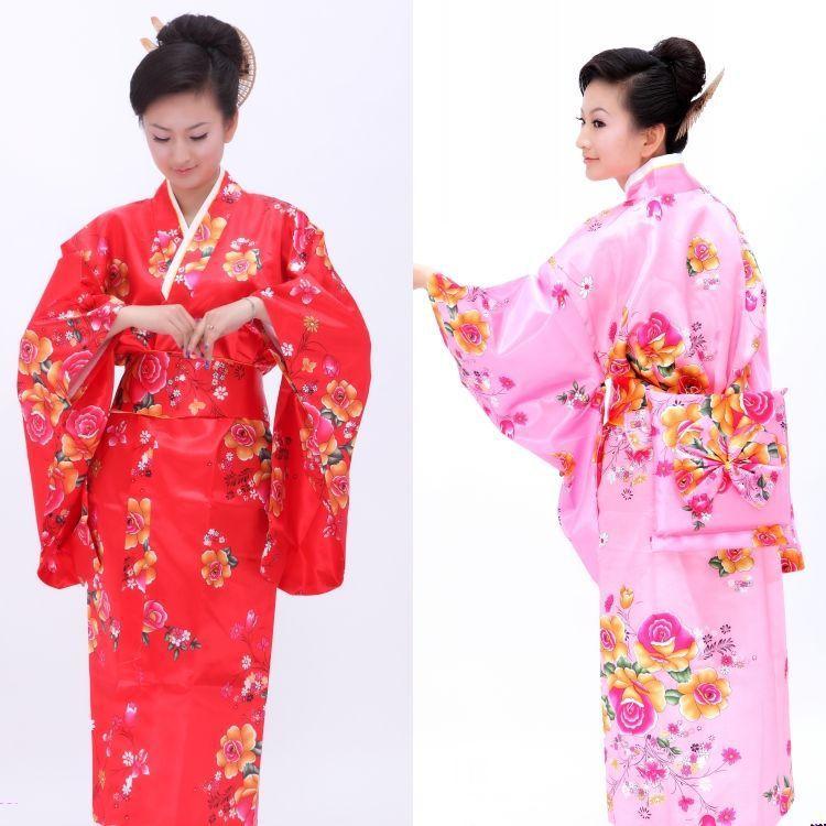 Ropa tradicional japonesa de mujer