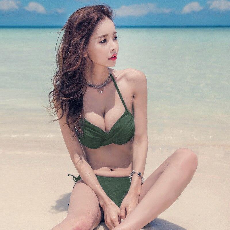 2 Piece Swimsuit Women Bathing Suits 2019 Bikini Biquini Ladies Swim Suit Swimwear Female Split Swimsuits Bikinis Beachwear New
