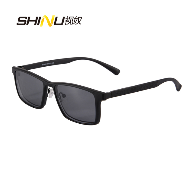 6502e3994a Cool Men Polarized Clip On Sunglasses Magnetic Sunglasses Prescription  Eyeglasses Frame Metal Optical Frame With TR90 Legs 9913
