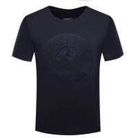 BILLIONAIRE TACE SHARK T Shirt Men 2018 Summer O Neck Collar Comfort Goemetry Solid Color Freely