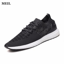 цена на Mens Shoes Casual Shoes Summer Breathable Lace up Flats Fashion Light Male Footwear Mesh Masculino Zapatos Hombre Sapatos