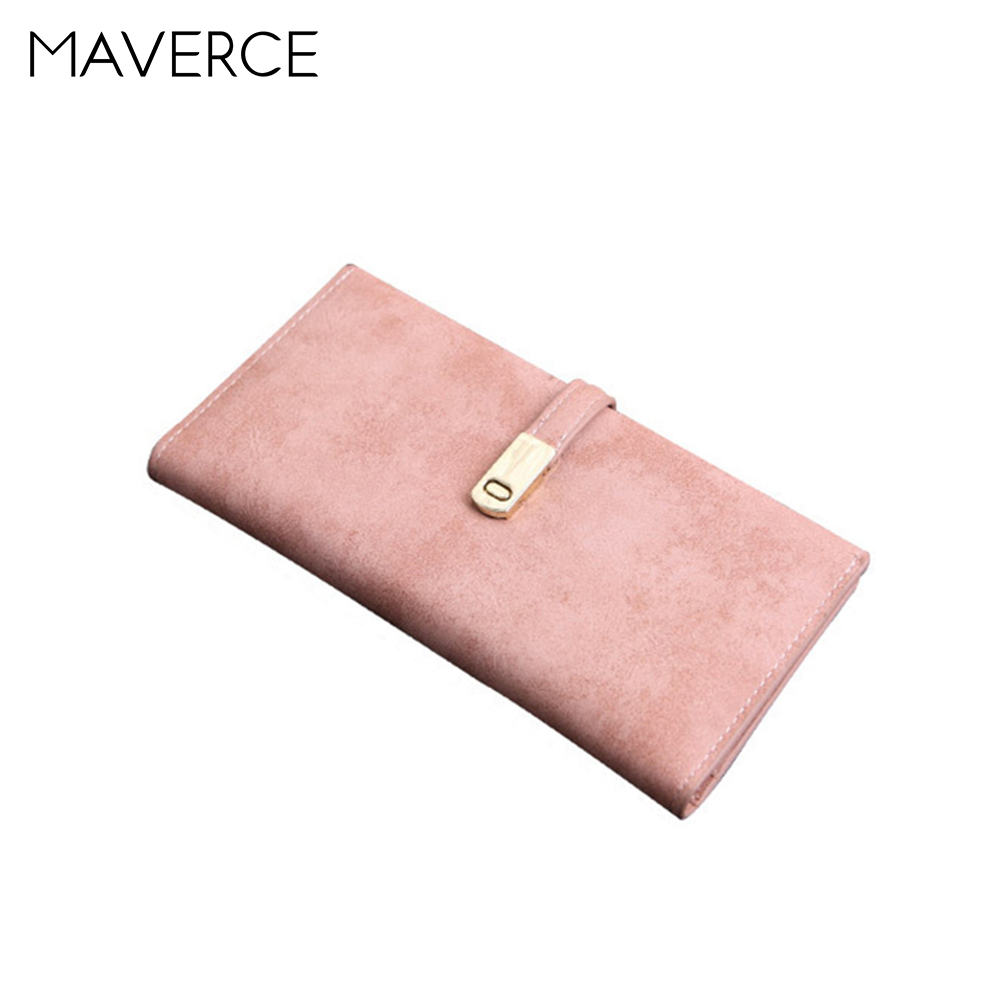 8 Color Korean style Women Wallets Stylish simplicity hasp Womens Purse long Design zipper Ladies Wallet PU Leather Card Hol