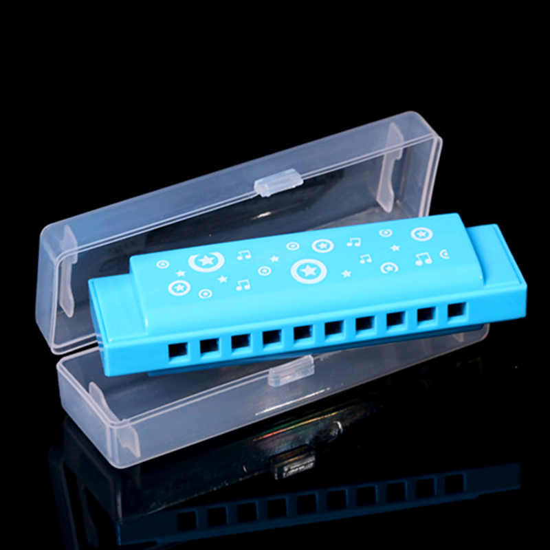 BEE 10 Holes Children Harmonica Blues Musical Instruments Mouth Ogan Orff Instruments Educational student Toys mondharmonica