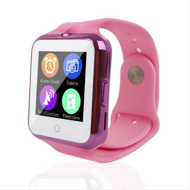2017 самая популярная Bluetooth Детские умные часы для мальчиков и девочек  SmartWatch телефон C88 синхронизации умные 79342db3004a7