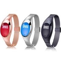 Women Fashion Smart Band Wristband Z18 Blood Pressure Heart Rate Monitor Pedometer Fitness Tracker Bracelet For