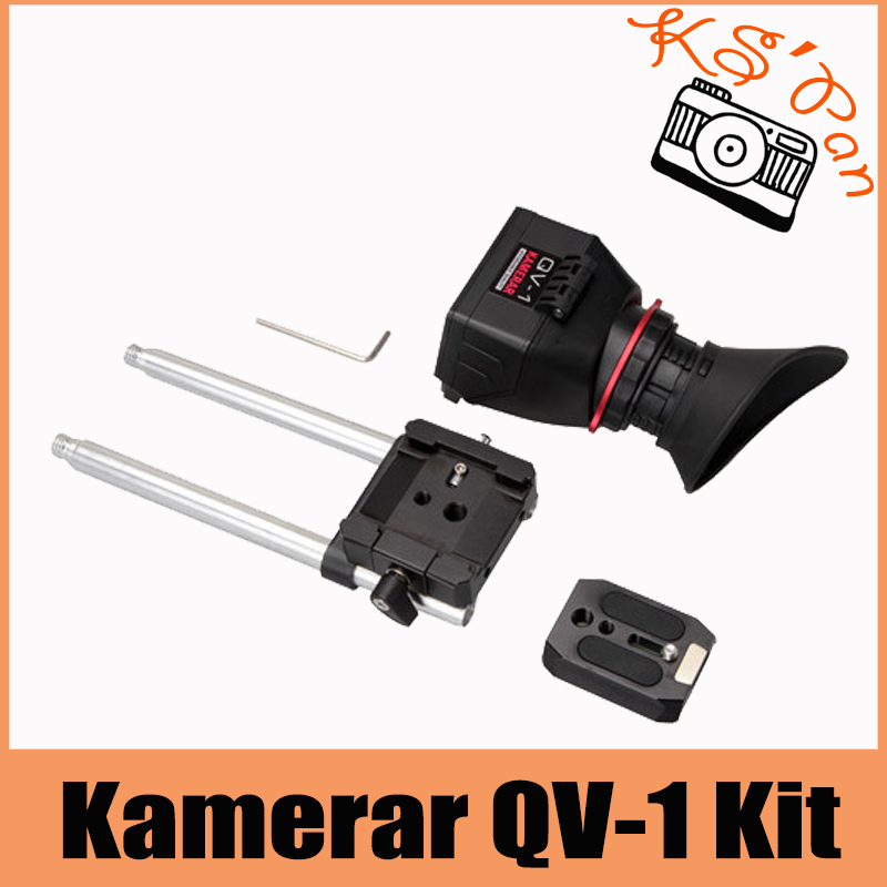 KAMERAR QV-1 KIT LCD VIEW FINDER For CANON 5D MarK III II 6D 7D 60D 70D ForNikon D800 D800E D610 D600 D7200 D90 цена 2017
