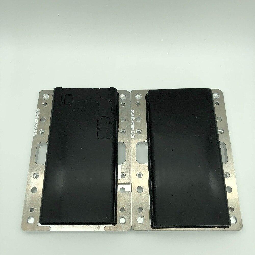 Ymj per Samsung Galaxy S6 S7 Bordo S8 S9 S10 Plus Nots8 9 Schermo Lcd Laminazione Stampo di Vetro a Cristalli Liquidi Oca allineamento Mould Unbent - 4