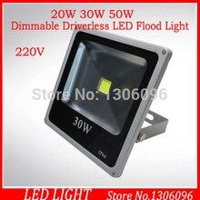 20ピース新しいスタイル20ワット30ワット50ワット調光対応ドライバ不要led洪水光暖かい/白220ボルトled照明器具検索プロジェクターoutdoorlight
