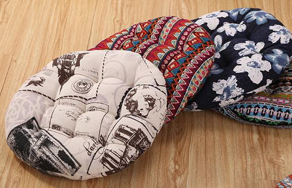 Superbe 2017 New Sale Style Comfortable Thick Home Office Round Seat / Back/ Chair  Cushion Bay Window Cushion Mat Pillows Free Shipping In Cushion From Home  ...