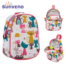 SUNVENO Fashion Baby Feeding Bottle Insulation Bag Thermal Bag for Baby Bottles Bolsa Termica Thermos Baby Bottle Holder(China)