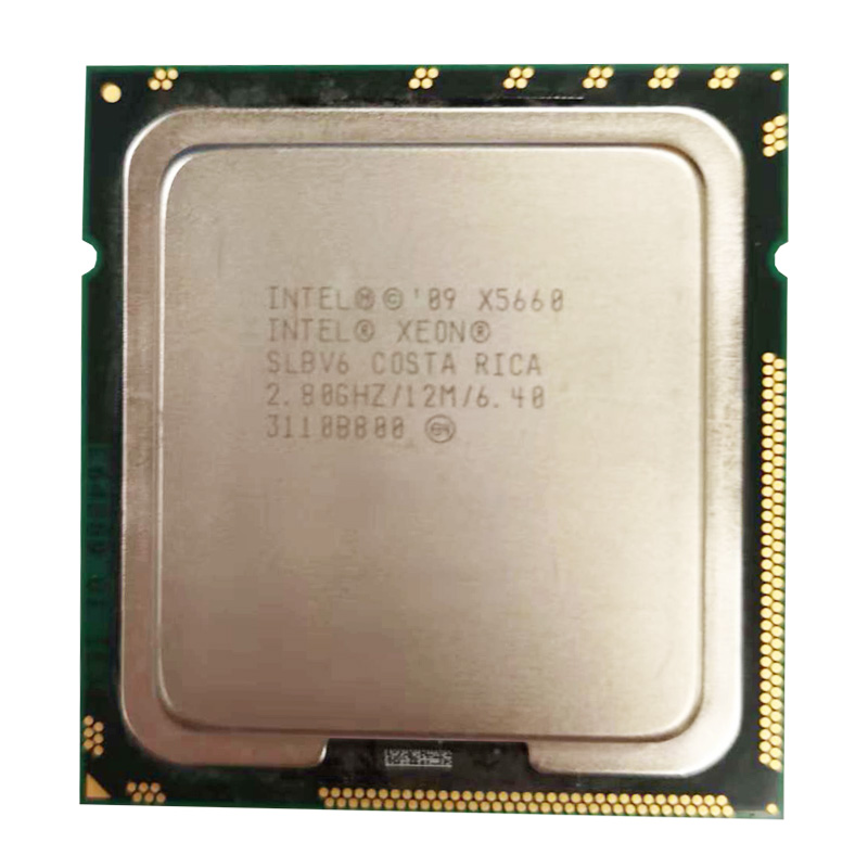 Intel Xeon Processor X5660 2.8Ghz PC Server CPU  12M LGA 1366 Server Six Core X5660 CPU