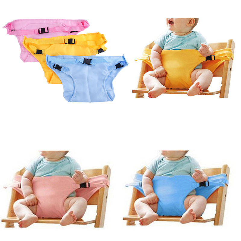Baby Dinning Lunch Chair/Seat Safety Belt/Portable Infant Seat/Dinning Chair Cover/Bebe Seguridad 3 Colors