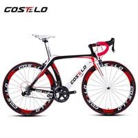 Heißer verkauf! 2015 vollcarbon costelo lucca rennrad carbon fahrrad diy komplette fahrrad completo bicicletta bicicleta completa
