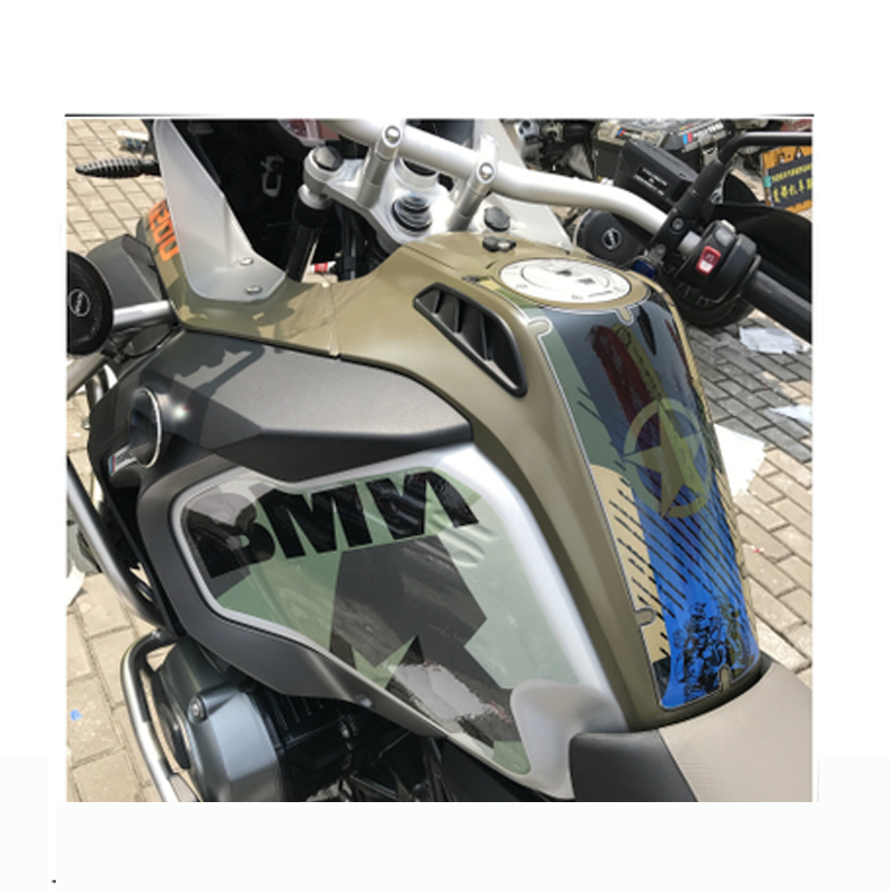 For BMW R1200GS LC Adventure R 1200 GS Anti Slip Fiber Tank Pad Protective Pads 2014 2015 2016 2017 2018 Motorcycle Accessories