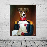 wall decorations dogs photo artistic painting oil painting canvas abstract art oil painting handmade for home decor