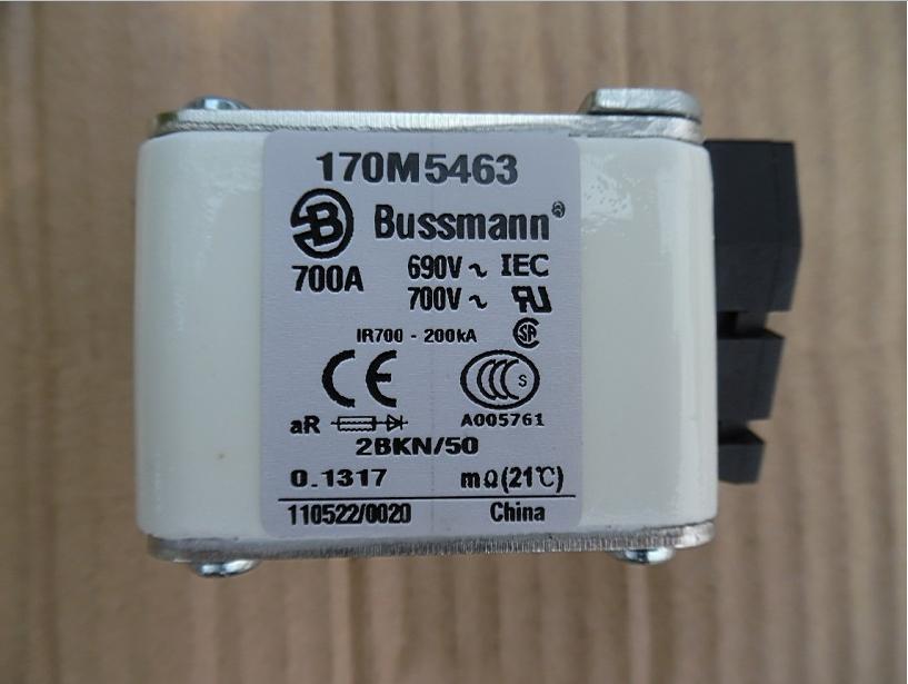все цены на Bussmann fuse 170M5463 700A 690V онлайн