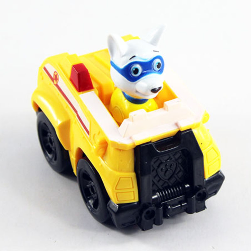 Tracker/Apollo Toys Puppy Patrol dog Patrulla Canina Action figures Patrulla Canine Skye Anime Vehicle Car Spain for kids gift