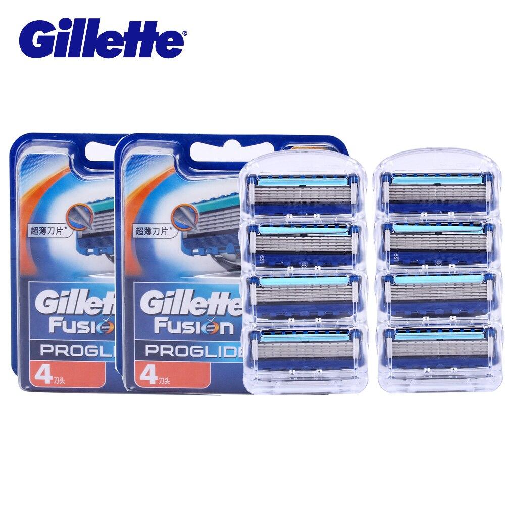 Gillette Fusion Proglide Lames de Rasoir Visage Hair Remover Rasoir Lame Coupe Rasage Tête De Rechange Affûtage Machine Couteau