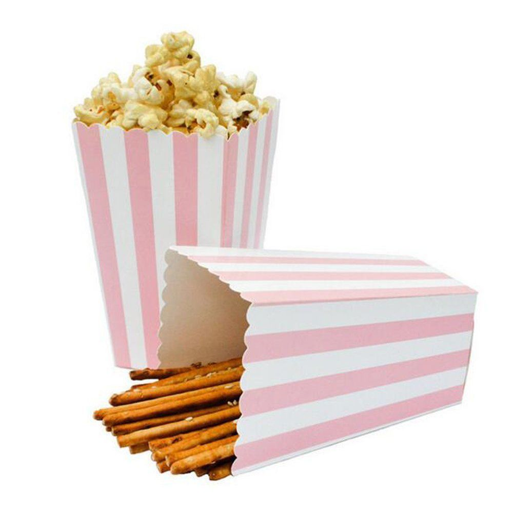 BestP 12pcs Favor Candy Treat Popcorn Boxes for Wedding Party Supply ...