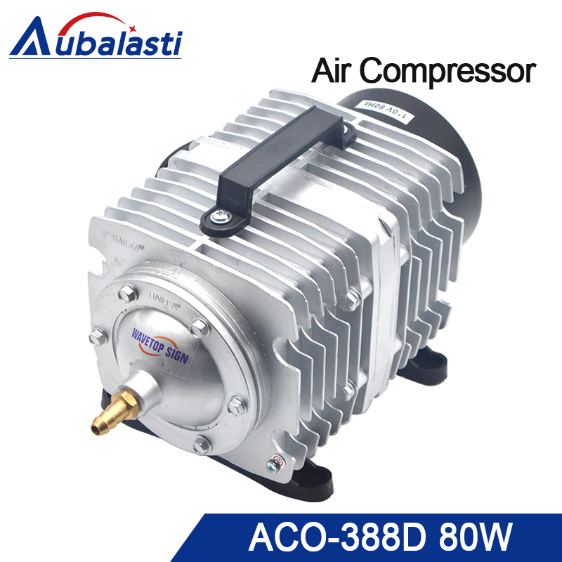 HAILEA 80W Air Compressor Air Pump for CO2 Laser Engraving Cutting Machine ACO-388D cm50ye13 12f cm75ye13 12f original