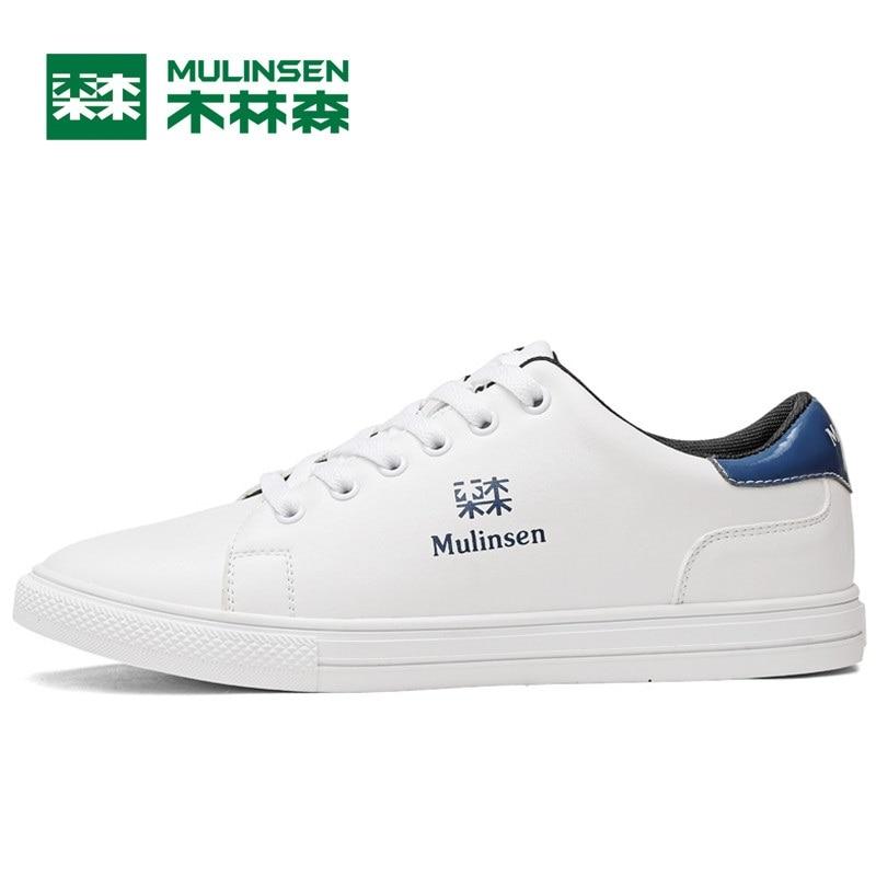 Prix pour Mulinsen hommes planche à roulettes de chaussures blanc bleu vert sport chaussures de formation en plein air sport chaussures classique sneakers 270022