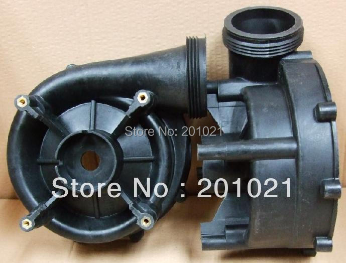 LX LP300 Pump Wet End Body - Pump housing only whole pump wet end part for lx lp series including pump body pump cover impeller seal