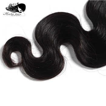 "Mocha Hair Brazilian Body Wave Virgin Hair Weaving One Bundle 10\""- 28\"" Inch Natural Color 100% Unprocessed Human Hair"