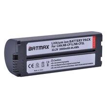 1 St 2000 mAh NB CP2L NB CP2L Batterij voor Canon NB CP1L CP2L Canon Photo Printers SELPHY CP800, CP900, CP910, CP1200, CP100, CP1300