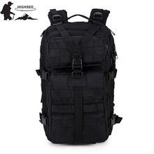 Qese shpine taktike HIGHSEE Ushtruese Shpinës shpërthimesh Heuptas Wandelen Tactical Pouch Sac A Dos Militaire Backpack Outdoor