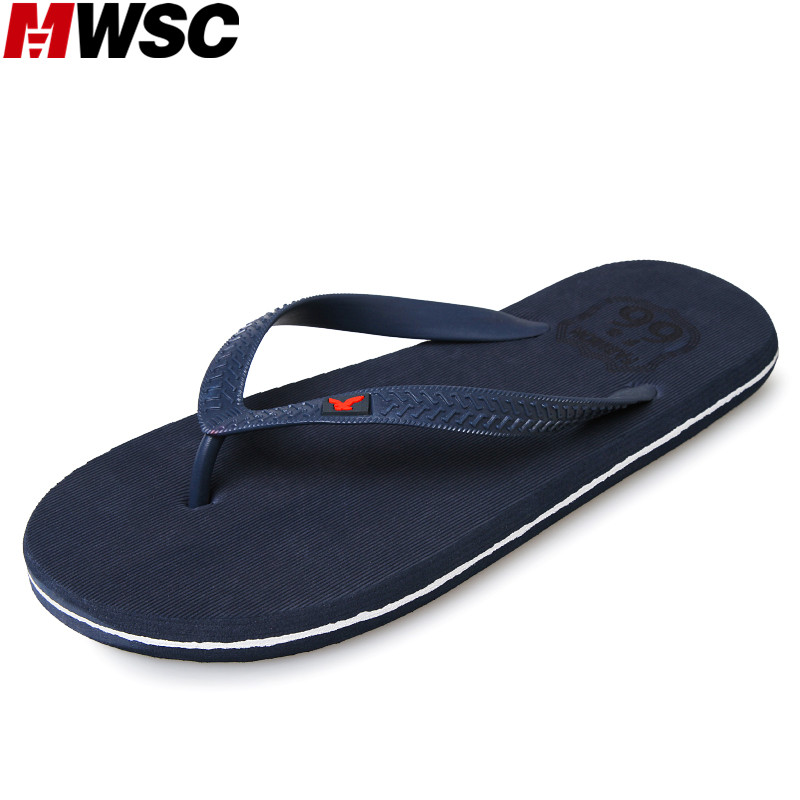 MWSC 2017 Summer New Arrival Male Beach Slipper Shoes Casual Flat with Anti-Slip Flip Flops Fashion Sandal Slippers hair company крем краска светло русый интенсивно золотистый 8 33 hair company inimitable color and blond lb12001 100 мл